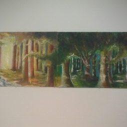 Three Canvas Landscape Tryptic