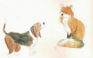 fox and a hound